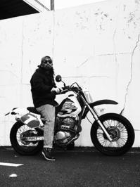 五十嵐 功 & HONDA XR250(2016.12.25 - 君はバイクに乗るだろう