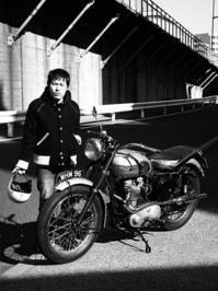 川部 健 & Triumph TR5(2017.01.22) - 君はバイクに乗るだろう
