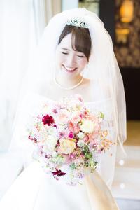 新郎新婦様からのメール モントレ赤坂の花嫁様より きらめきというタイトル - 一会 ウエディングの花