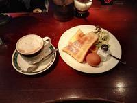 久しぶりのカフェ - 東京競馬場の怪人