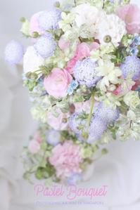 FLOWER #26 もひとつ、パステル・ロマンチックブーケ - フォトジェニックな日々