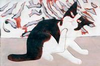 queue galleryで展示中の猫 - yuki kitazumi  blog