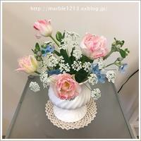 春らしいアレンジ - 千葉県旭市アロマセラピー*atelier marble