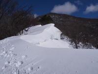 雪庇を楽しんで荒山・鍋割山  2017.2.15(水) - 心のまま、足の向くまま・・・