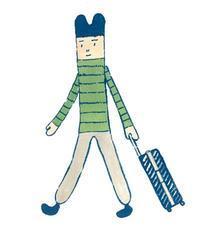搬入DAY - たなかきょおこ-旅する絵描きの絵日記/Kyoko Tanaka Illustrated Diary