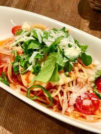 イタリア産アフミカータチーズのトマトソースパスタ@Afternoontea Tearoom - れしぴこ的 無駄なあがきっ!