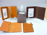 定期券・パスケース・大会(再) - 手縫い革小物 paddy の作品箱
