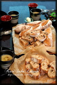 Pain de campagne(パン・ド・カンパーニュ) - KuriSalo 天然酵母ちいさなパン教室と日々の暮らしの事