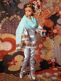 人形用パンジャービー・ドレス -  Der Liebling ~蚤の市フリークの雑貨手帖2冊目~