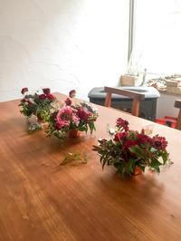 テーブル装花 - le jardinet