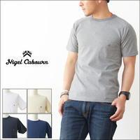 nigel cabourn [ナイジェル ケーボン] BASIC T-SHITS [80340021020] ベーシックTシャツ MEN'S - refalt   ...   kamp temps