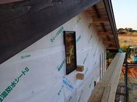 透湿防水シート貼り&壁下地つくり&下水道工事 - 離島!bum