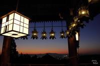 奈良市 二月堂舞台の灯り - ぶらり記録(写真) 奈良・大阪・・・