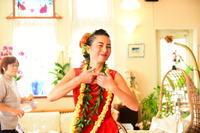 Hawaiiを感じて フラ体験 - フラに癒されて。風の吹くまま心地よく
