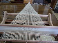 機織りはじめ - 裂き織りばあばと瓢箪じいじ
