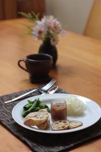 ルバーブジャムの朝ごはん - Life w/ Pure & Style