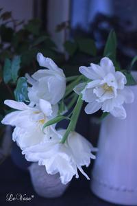 レッスン後のお花たち - Le vase*  diary 横浜元町の花教室
