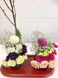 おひなさまのアレンジメント - **おやつのお花*   きれい 可愛い いとおしいをデザインしましょう♪
