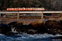 鉄橋を渡る。 - 山陽路を往く列車たち