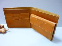 後ろのポケットに、これを・・ - 手縫い革小物 paddy の作品箱