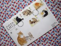 猫のFDC -  Der Liebling ~蚤の市フリークの雑貨手帖2冊目~