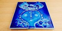 スティグ リンドベリ : Monokromt 陶板 - EN HALV    -北欧雑貨のある暮らし-