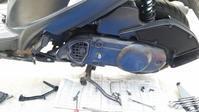 アドレスV125G 駆動系の点検 - 近江ポタレレ日記(琵琶湖)自転車二人旅