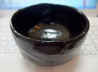 黒楽の抹茶茶碗 購入 - 20140427
