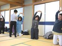 1月26日、2月9日 骨盤体操教室を開催しました - 子育てサークル たんぽぽの会
