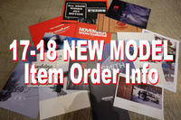 17-18 NEW MODEL ORDER INFO - amp [snowboard & life style select]
