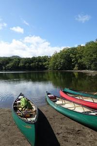 十和田湖でカナディアンカヌー - HOT HOT SPRINGS