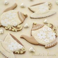 ホームページ復旧のお知らせ・閲覧可能になりました! - Misako's Sweets Blog アイシングクッキー 教室 シュガークラフト教室 フランス菓子教室 お菓子 教室