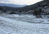 明日香 細川 雪景色 - 魅せられて大和路