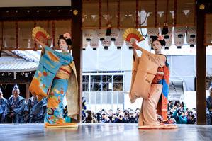 節分祭・奉納舞踊(先斗町・市彩さん、あや葉さん) - 花景色-K.W.C. PhotoBlog