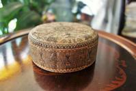 コルクの円筒箱 - スペイン・バルセロナ・アンティーク gyu's shop