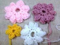 ☆玉編みとパプコーン編み色々試し☆ - ガジャのねーさんの  空をみあげて☆ Hazle cucu ☆