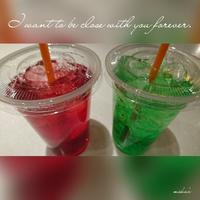 「Love Love ジュース」 - わたしの写真箱 ..:*:・'°☆
