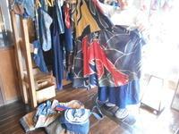 風雅さん・その2・・売約済みの商品と・・Kさん作ピンクの紬コート - 藍ちくちく日記