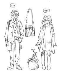 ハルカとそめこ(衣装設定) - 山田南平Blog