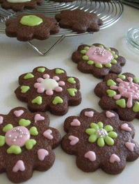 チョコレートの季節のお教室風景 - K's Sweet Kitchen