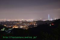 貓空でも指折りの夜景と言う噂の「雙橡園」に行ってみた - 【重杉】台湾出稼ぎ、ぼっち放浪記(クリックすると大きくなります)【注意】
