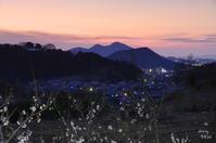 明日香村小原 夕景 - ぶらり記録(写真) 奈良・大阪・・・