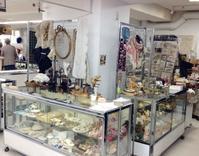 暮らしの中の骨董マーケット@西武池袋本店 - BLEU CURACAO FRANCE