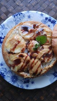 チョコバナナピーナツの朝ごぱん - 料理研究家ブログ行長万里  日本全国 美味しい話