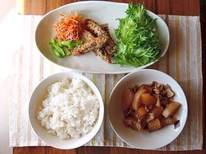 2/19(日)息子と母の昼ご飯 - おひとりさまの食卓plus