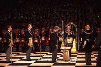 『カンタベリー大聖堂でフリーメーソンの記念礼拝』/ EWTN - 「つかさ組!」