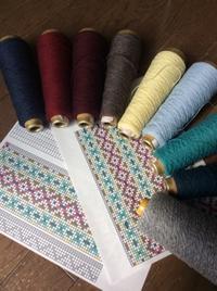 次のショートマフラー織り始めました - Yohmamaの雑記帳