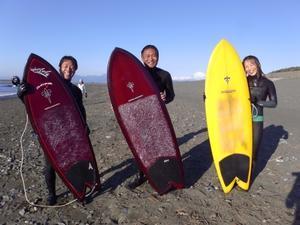 2017.2.19 - GO FISH 高津佐浩行 ENJOY SURFINGレトロクワッド/フィッシュ/ツイン