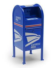 USPS Replica Dropbox Express Mail logo - 下呂温泉 留之助商店 入荷新着情報