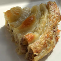 ひき肉とたまねぎのBoşnak Böreği。 - アクデニズ。